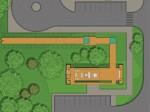 Planta do Estacionamento e do SAU/Portal de Acesso ao Parque
